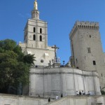 1309 popes resided here until 1403 but from 1378 on, there were twin popes, one in Rome and one in Avignon, until 1417.