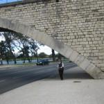 Harriet got to dance under the bridge. No time to get on top.