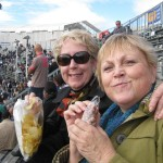 Junk food at the Bull Fights!