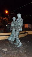Sculpture in the town square of Lisdoonvarna dedicated to years of Match-making.
